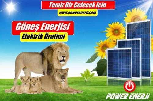 evler için güneş Paneli maliyeti POWER ENERJİ www.powerenerji.com