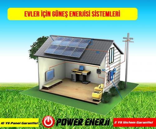 evler icin güneş enerjisi