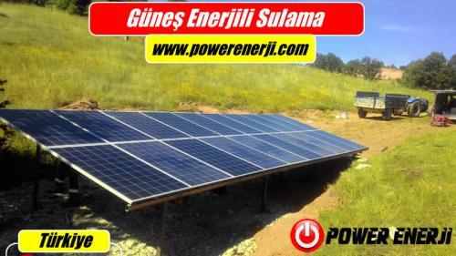 Güneş Enerjili Sulama