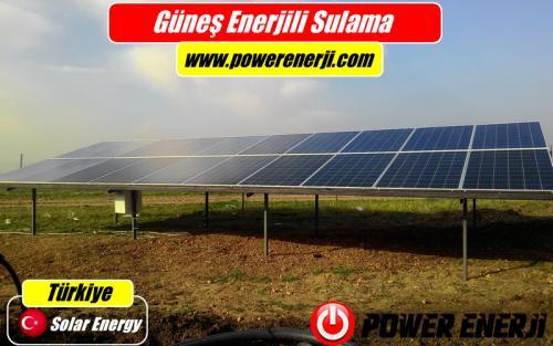 güneş enerjili sulama sistemi güç hesabı