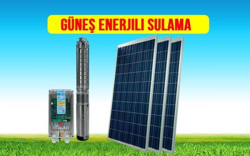 güneş enerjisi ile sulama