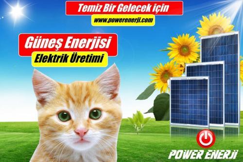 güneş Paneli POWER ENERJİ www.powerenerji.com