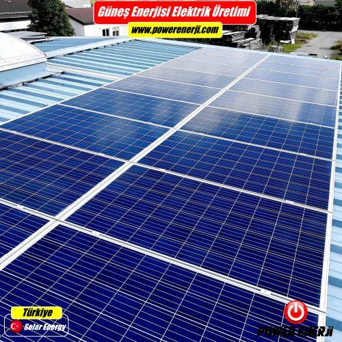 gunes enerjisi elektrik uretimi gunes paneli fiyatlari
