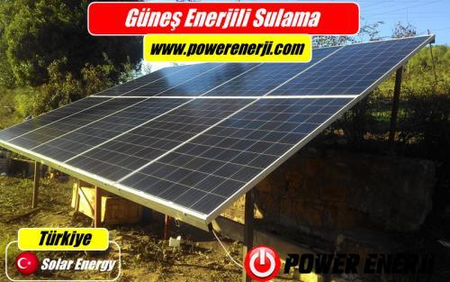 güneş enerjisi elektrik üretimi sulama