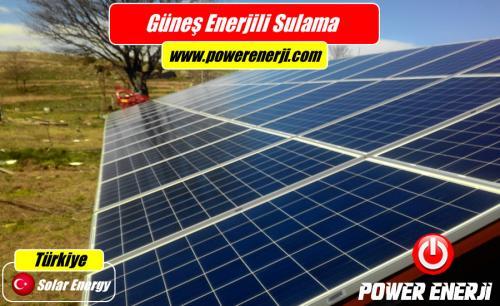 güneş enerji ile tarımsal sulama