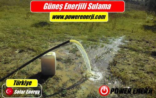 güneş enerjisi sulama