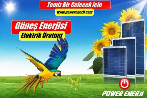 Solar panel fiyatı www.powerenerji.com