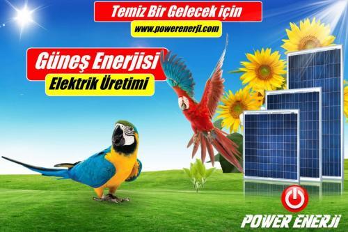 Solar SunPower panel fiyatı www.powerenerji.com